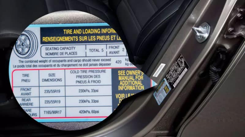 How Do I Find the Correct Tire Pressure for My Car