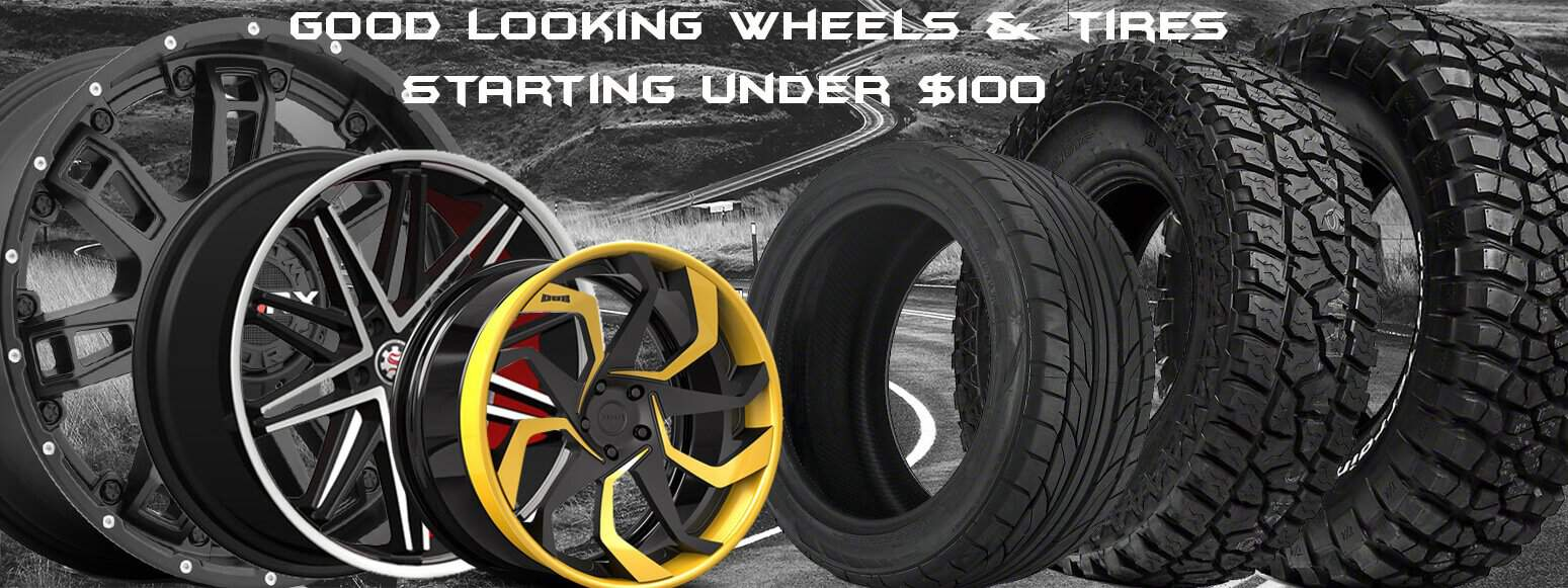 Below $100 Wheels and Tires - Santa Clarita Auto Sound