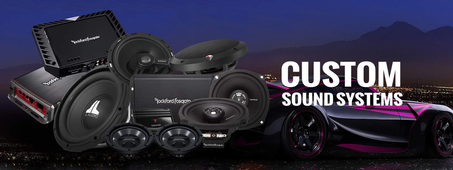 Custom Sound Systems - Santa Clarita Auto Sound