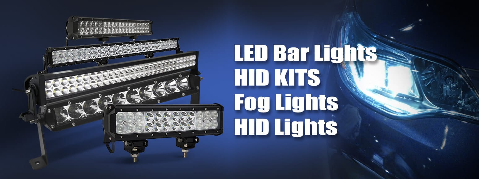 LED Bar Lights - HID Kits - Fog Lights - HID Lights - Santa Clarita Auto Sound