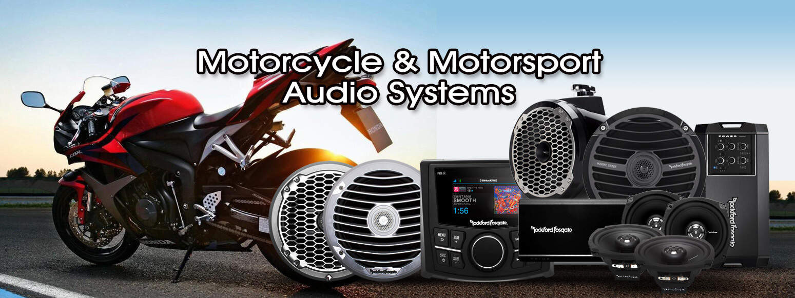 Motorcycle and Motorsport Audio Systems - Santa Clarita Auto Sound