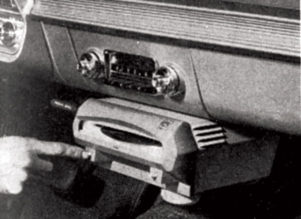 50s 60s car audio systems